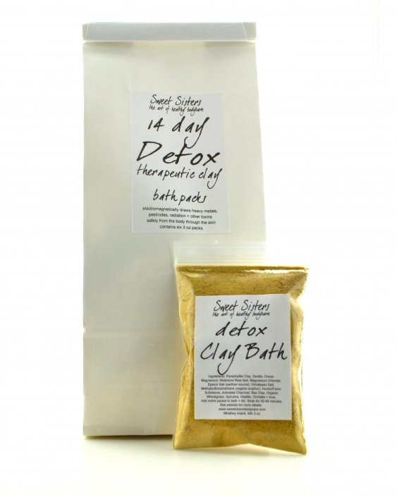 detox bath pyrophyllite clay humic fulvic earth mineral bath detoxify body