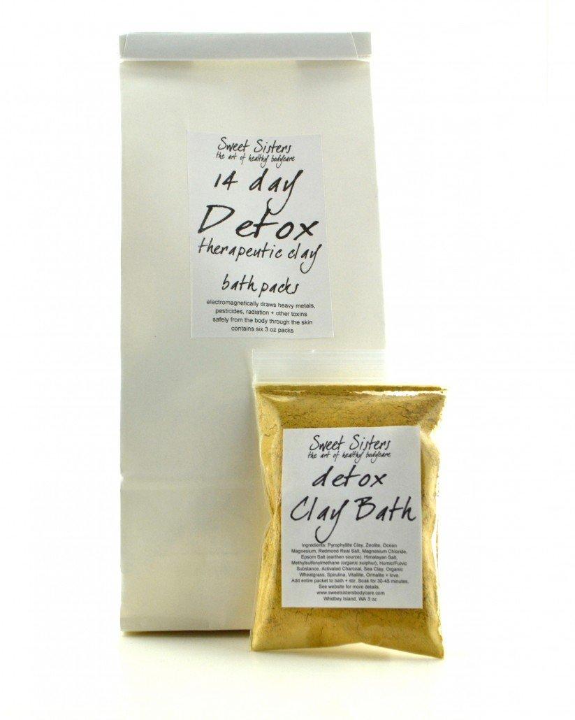 detox bath pyrophyllite clay mineral bath detoxify body