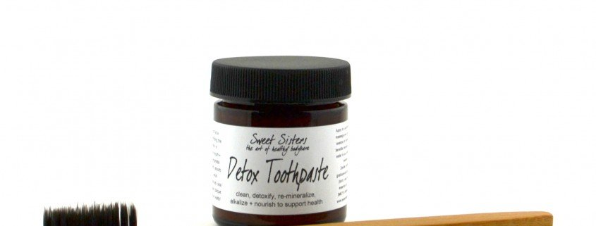 detox toothpaste zeolite clay without fluoride no artificial sweeteners colors no glycerin