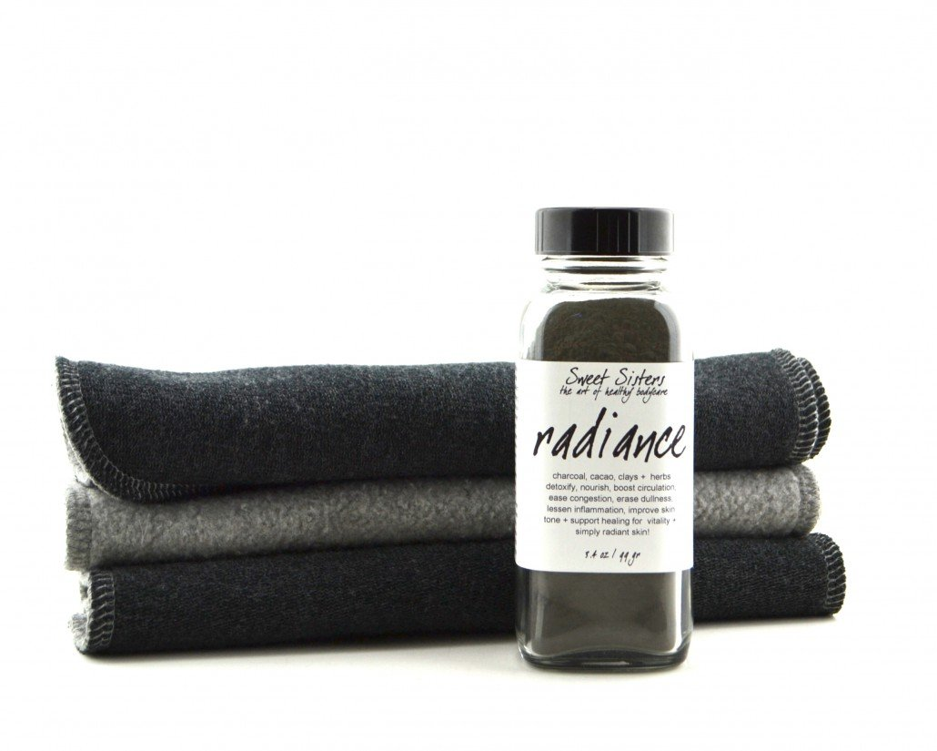 radiance charcoal face mask detox refine texture smooth healthy skin