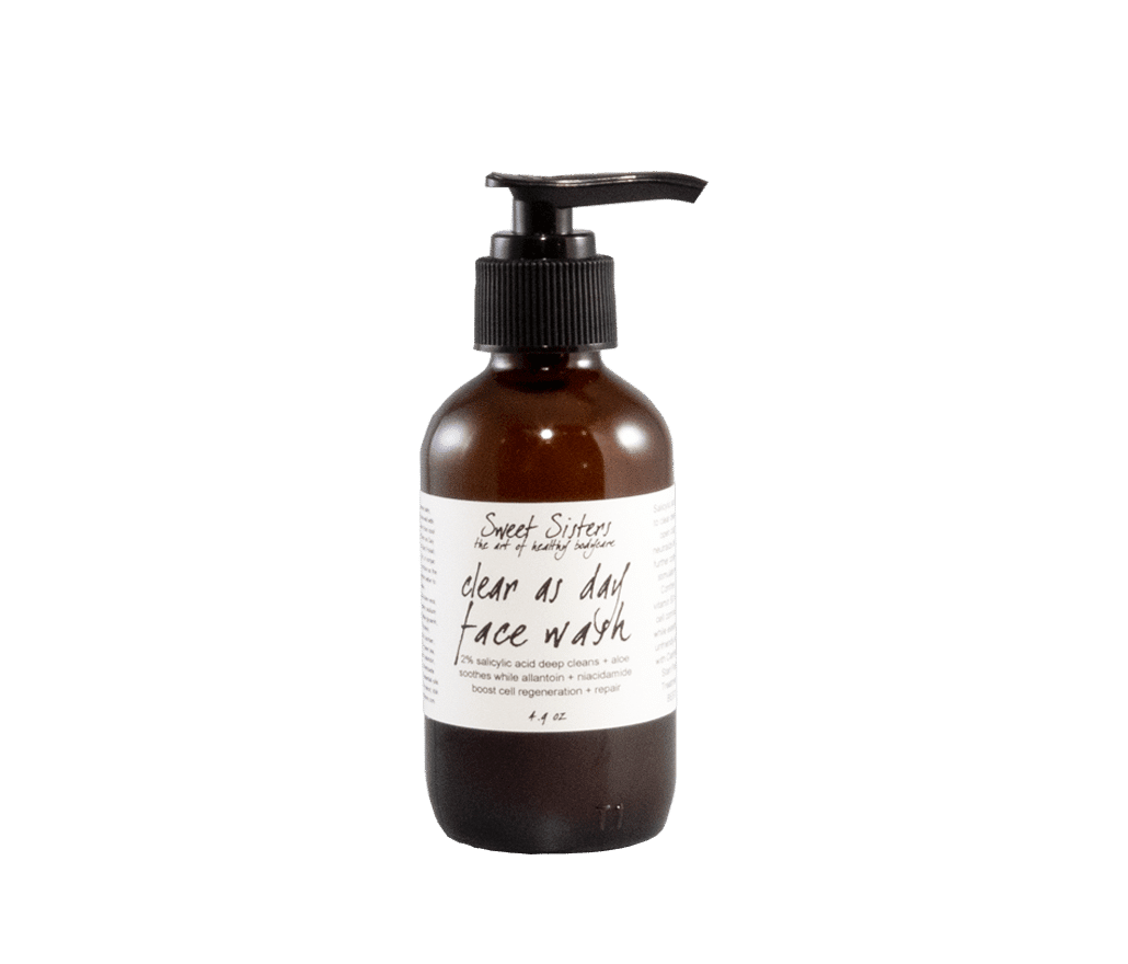 clarifying foaming facial cleanser with salicylic acid