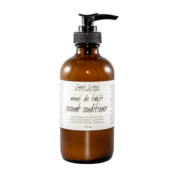 natural healthy herb infused hair conditioner