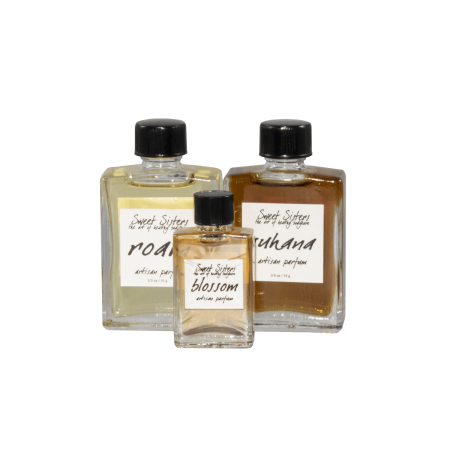 handcrafted artisan pure plant perfume