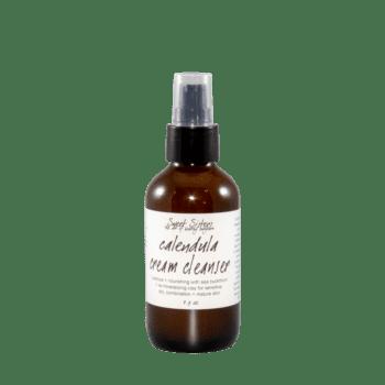 calendula cream cleanser for dry sensitive combination skin