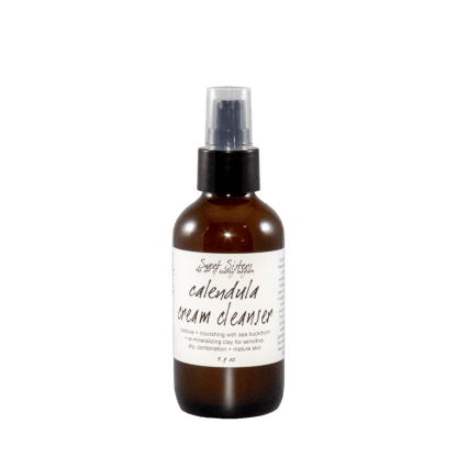 calendula cream cleanser for dry sensitive combination skin