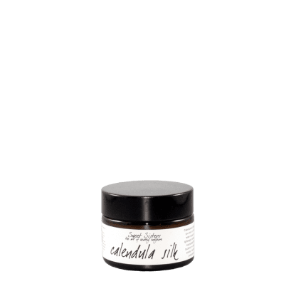 calendula infused beta glucan light silky soothing calming face cream