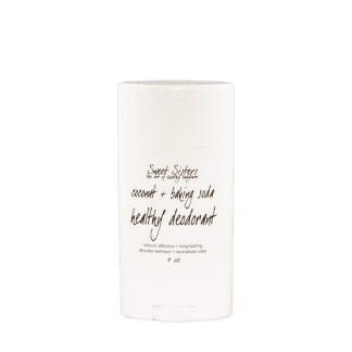 healthy coconut and baking soda deodorant natural organic safe effective