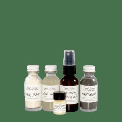 travel starter skin care set