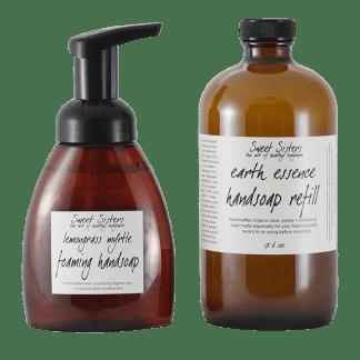 bar + hand soap