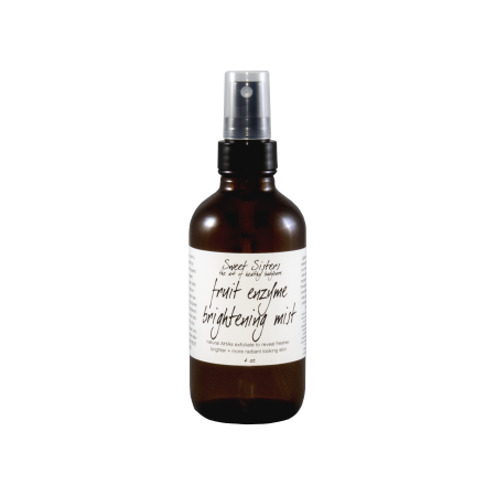 Fruit enzyme fruit acids brightening mist