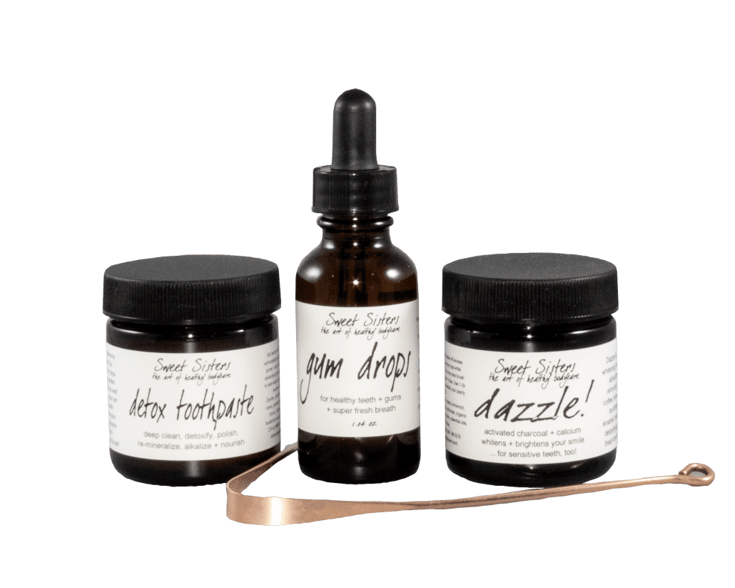 healthy mouth healthy dental care set natural organic safe effective