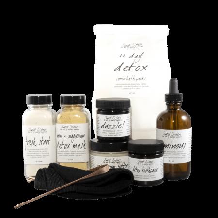 deluxe detox set healthy body natural safe effective