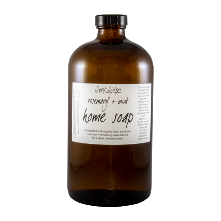 handcrafted organic castile soap non-toxic cleansing products