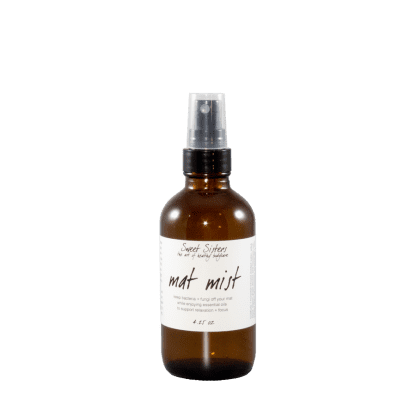 yoga and exercise mat mist aromatherapy effective cleaning