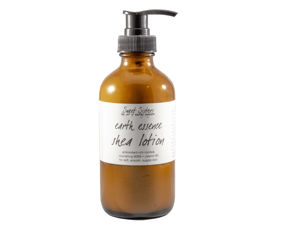 shea cupuacu MSM hand and body lotion organic oils rooibos infusion