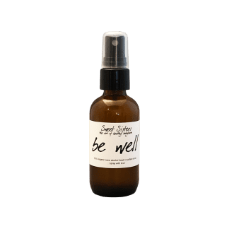organic hand sanitizer spray